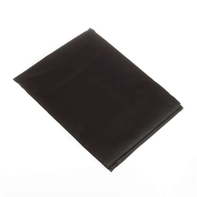 Prześcieradło satynowe proste czarne 180 × 200 cm
