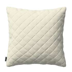 Kinga square quilted velvet cushion cover 43 x 43 cm
