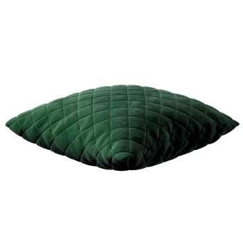 Pudebetræk quiltet velour 43 x 43 cm