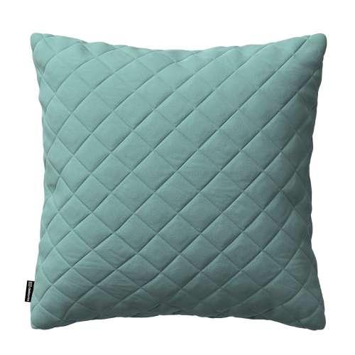 Kinga square quilted velvet cushion cover 43 x 43 cm