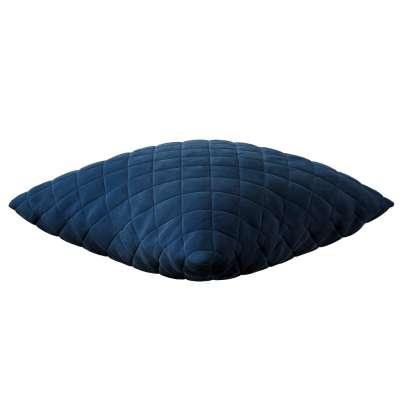 Putetrekk quiltet velour 43 x 43 cm 704-29 Mørkeblå Kolleksjon Velvet