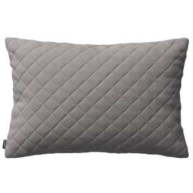 Kinga rectangular quilted velvet cushion cover 60 x 40 cm