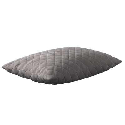 Dekortayvinės pagalvėlės užvalkalas Kinga rombiukais 60 x 40 cm 704-11 Pilkšva prigesinta Kolekcija Velvetas/Aksomas
