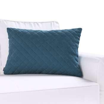 Dekortayvinės pagalvėlės užvalkalas Kinga rombiukais 60 x 40 cm kolekcijoje Velvet/Aksomas, audinys: 704-16