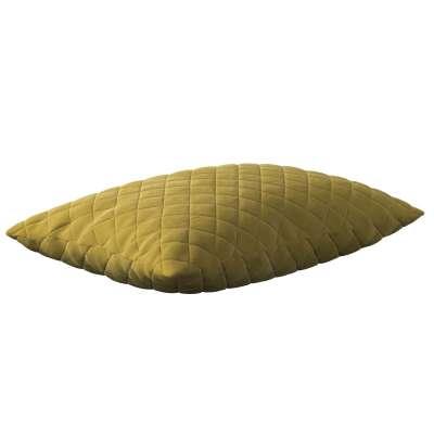 Kissenhülle Kinga gesteppt 60x40cm 704-27 olivegrün Kollektion Velvet