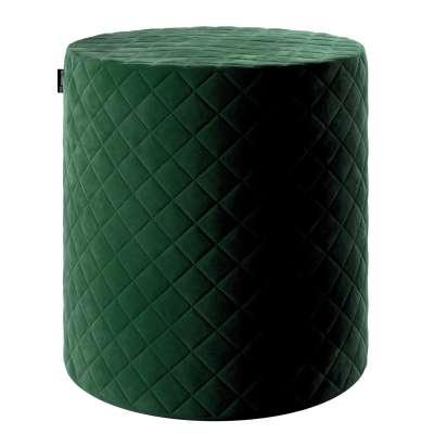 Pouf Barrel gesteppt von der Kollektion Velvet, Stoff: 704-13