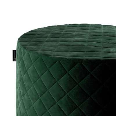 Puf Barrel pikowany w kolekcji Velvet, tkanina: 704-13