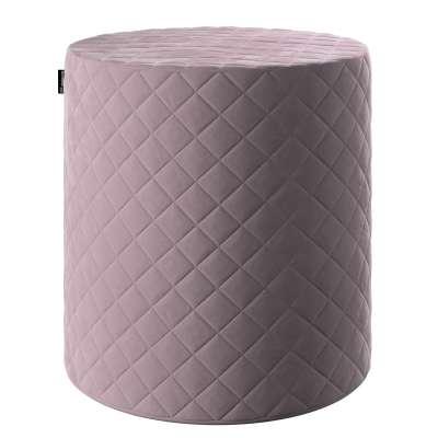 Pouf Barrel gesteppt 704-14 rosa Kollektion Velvet