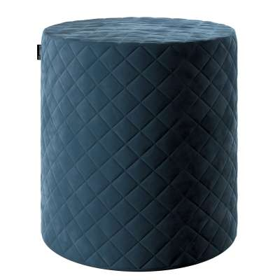 Pouf Barrel gesteppt von der Kollektion Velvet, Stoff: 704-16