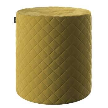 Sedák Barrel pevný, s prošitím, d40cm, výška 40cm v kolekci Velvet, látka: 704-27