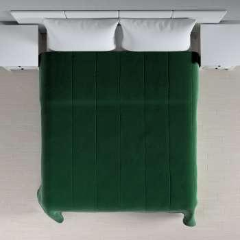 Sengetæppe quiltet<br/>i 25cm striber i velour