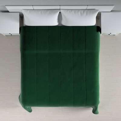 Velvet kolekcijos lovatiesės su vertikaliu dygsniavimu 704-13 Žalia Kolekcija Velvetas/Aksomas