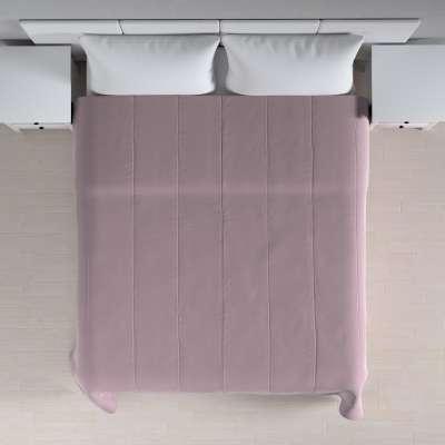 Velvet kolekcijos lovatiesės su vertikaliu dygsniavimu 704-14 Prigesinta rožinė Kolekcija Velvetas/Aksomas