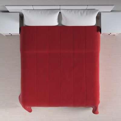 Sametový přehoz Velvet 704-15 sytá červená Kolekce Velvet