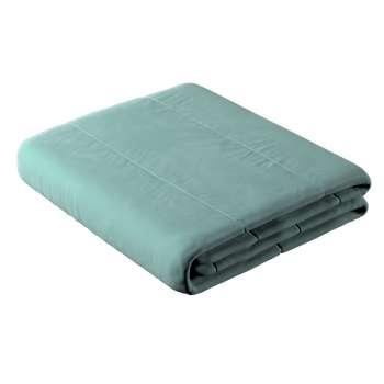 Sengetæppe quiltet<br/>25cm striper i velour fra kolleksjonen Velvet, Stoffets bredde: 704-18