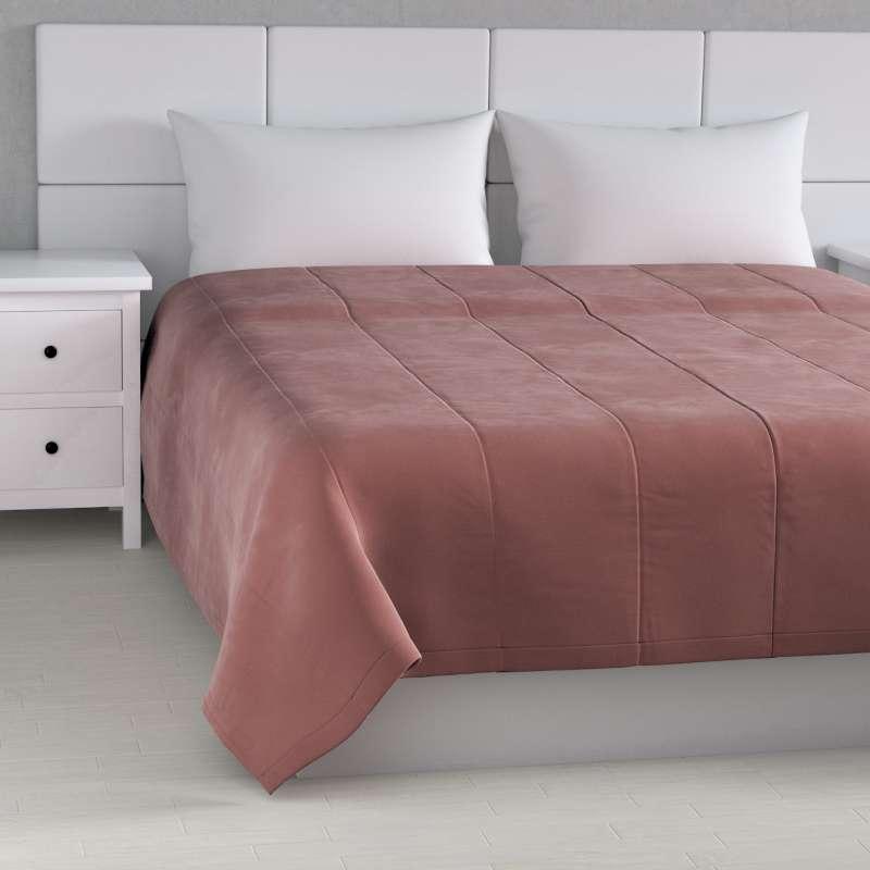 Velvet stripe quilted throw in collection Velvet, fabric: 704-30