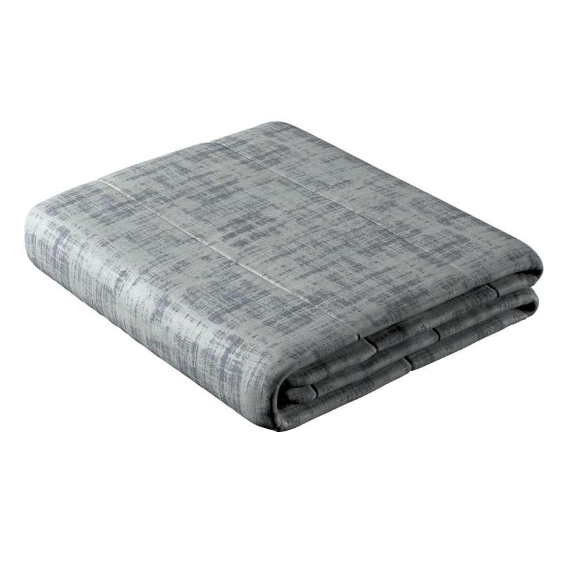 Sengetæppe quiltet<br/>25cm striper i velour fra kolleksjonen Velvet, Stoffets bredde: 704-32