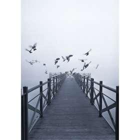 Leinwandbild Dawn Lake