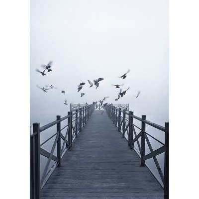 Obraz na płótnie Dawn Lake