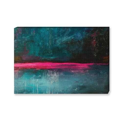 Kunstprint canvas Expression Pink II