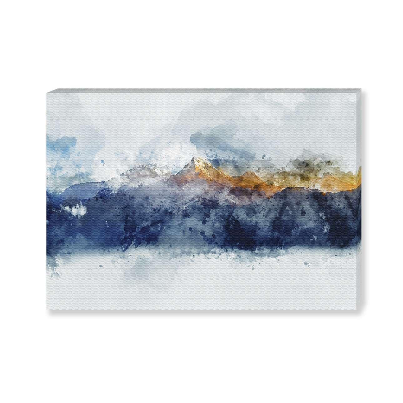 Obraz na plátně Golden Mountains