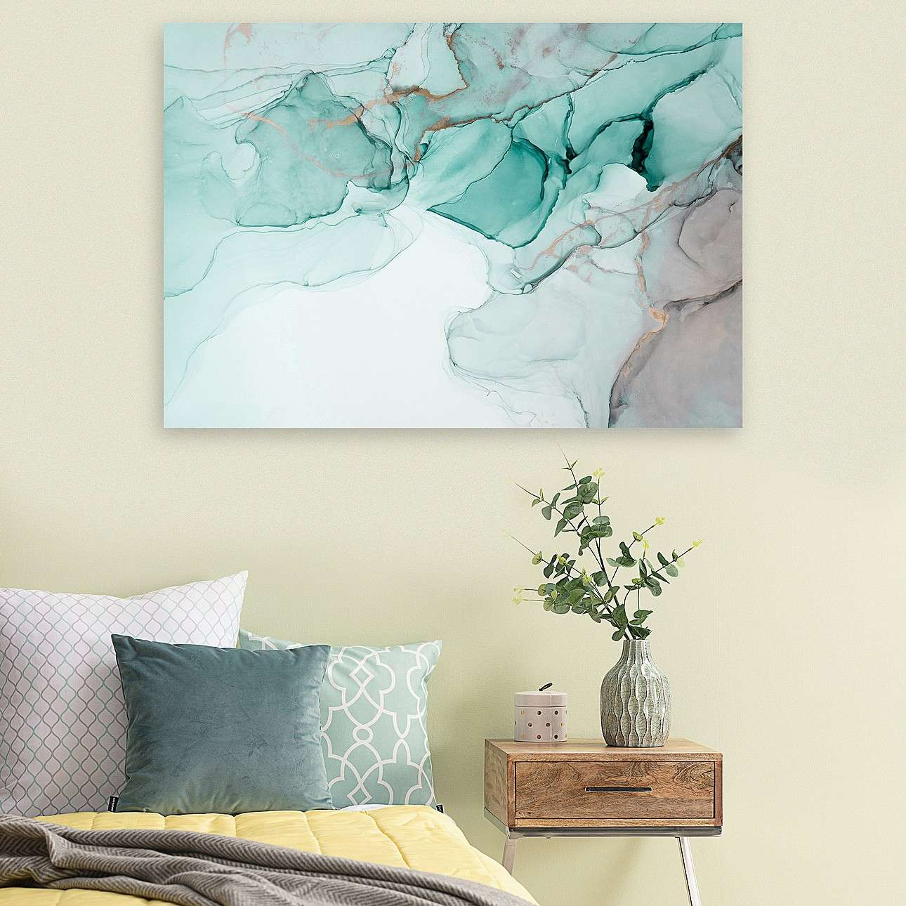Obraz na płótnie Subtle Sage Art