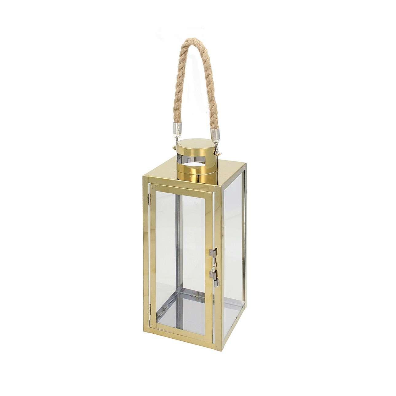 Lucerna Arana Gold výška 43cm