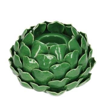 Svícen Artichoke Green I