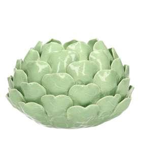 Teelichthalter Artichoke Green II