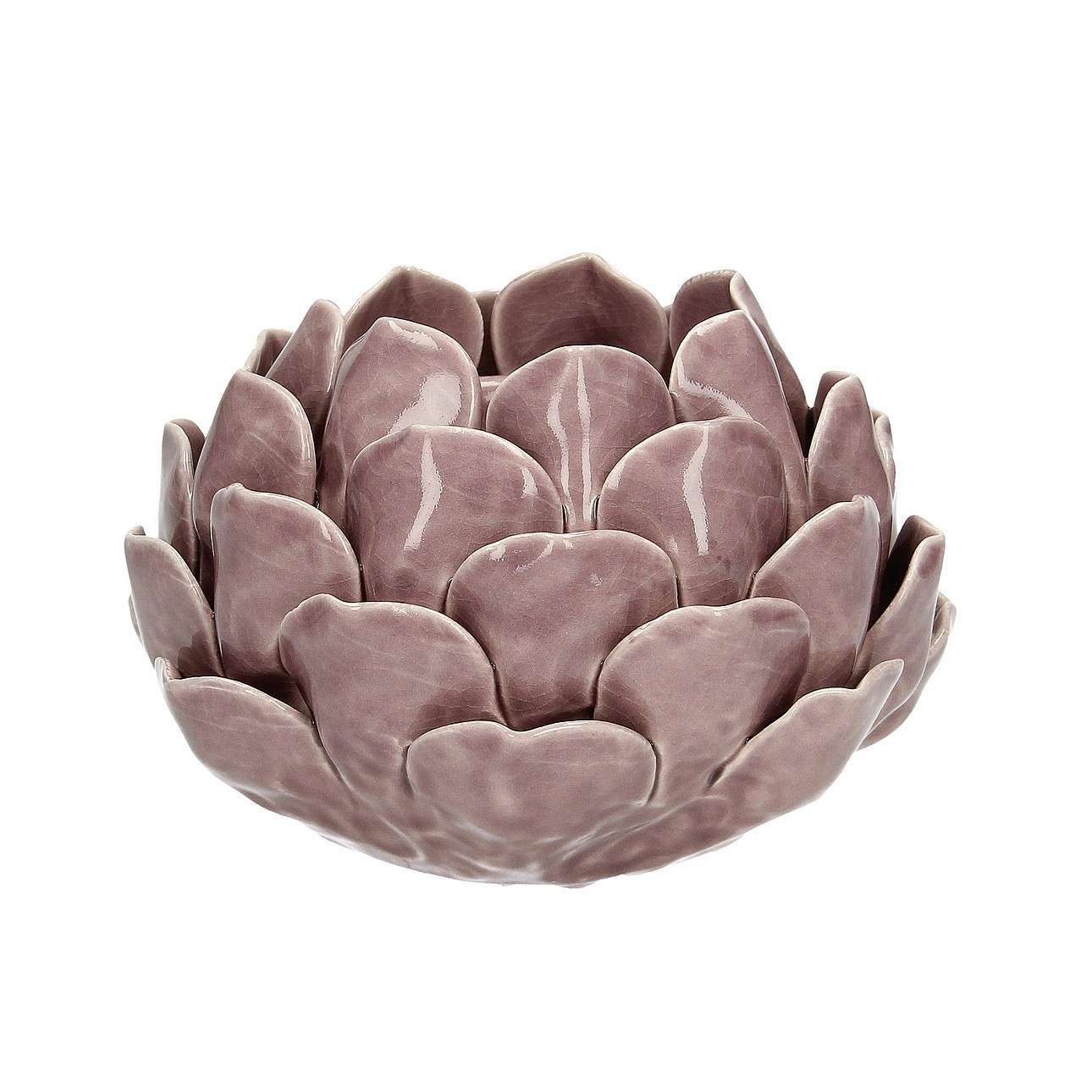 Teelichthalter Artichoke Dusty Pink I