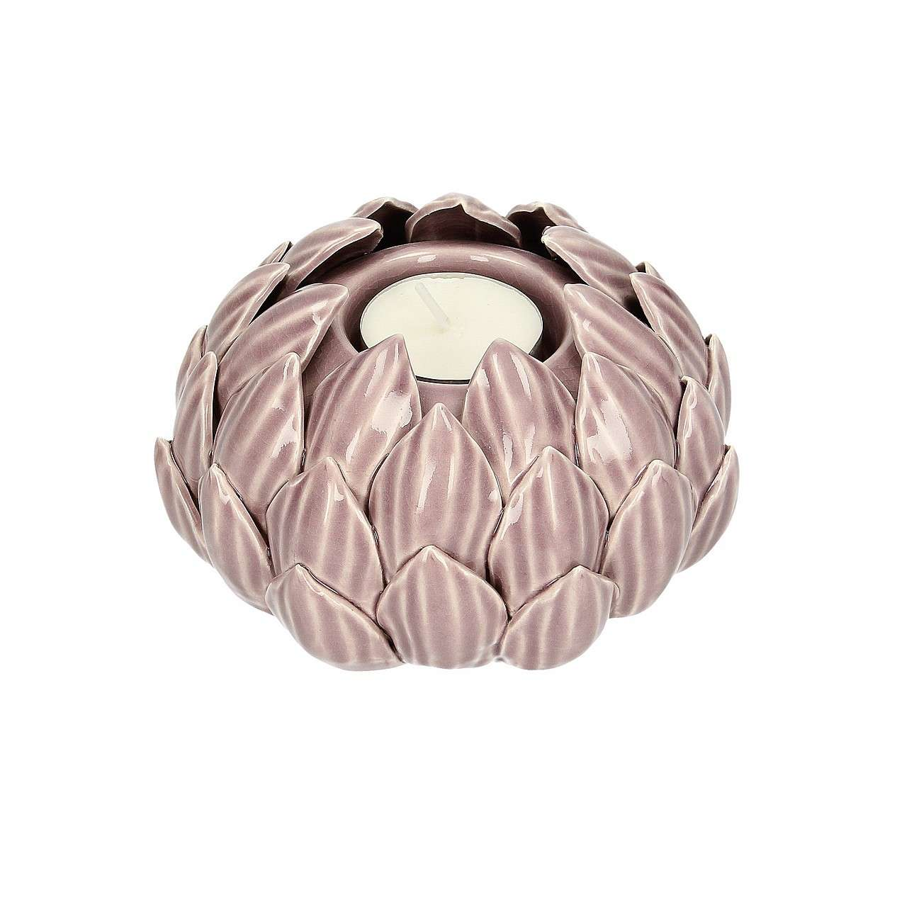 Świecznik Artichoke Dusty Pink II