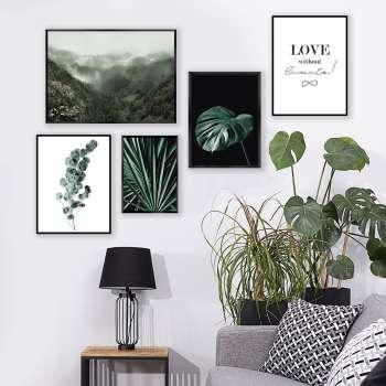 Plakat Eucalyptus Emerald Green