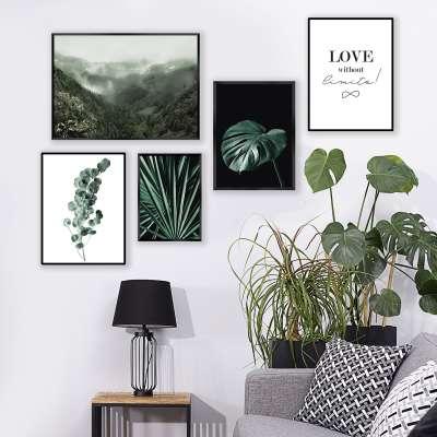 Plakatas Eucalyptus Emerald Green Paveikslai/vaizdai - Dekoria.lt