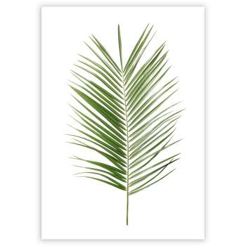 Plakat Palm Leaf Green
