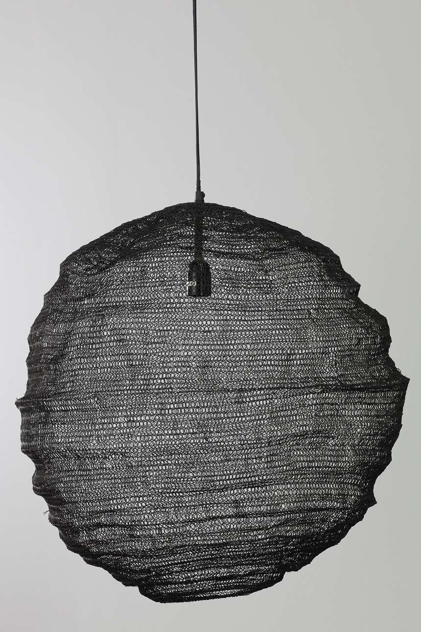 Dekoria Lampa wisząca Morina 60 cm black