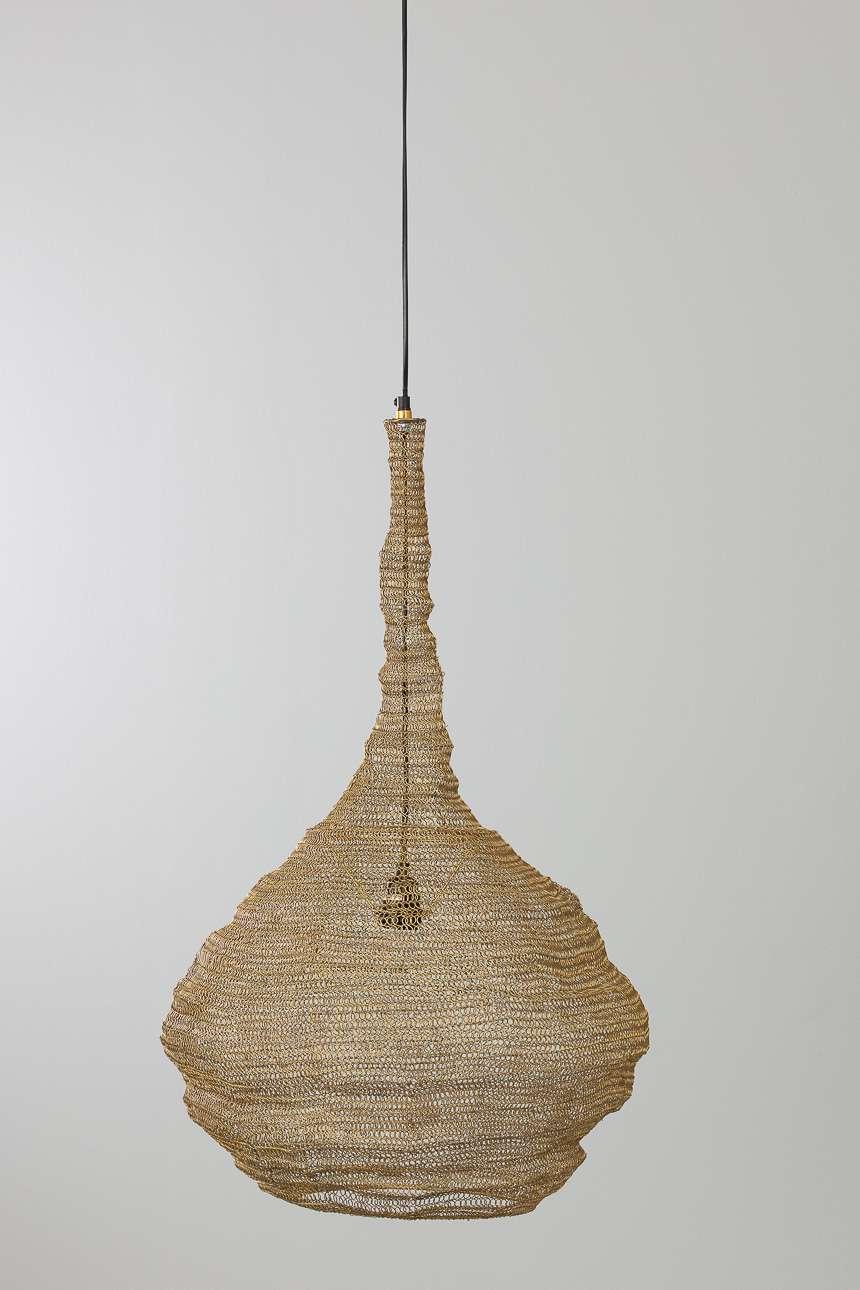 Dekoria Lampa wisząca Ray Brass 80cm