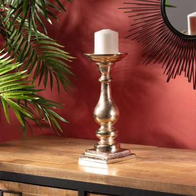 Świecznik Junah Gold 30 cm