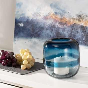 Świecznik Marino Blue I 16 cm