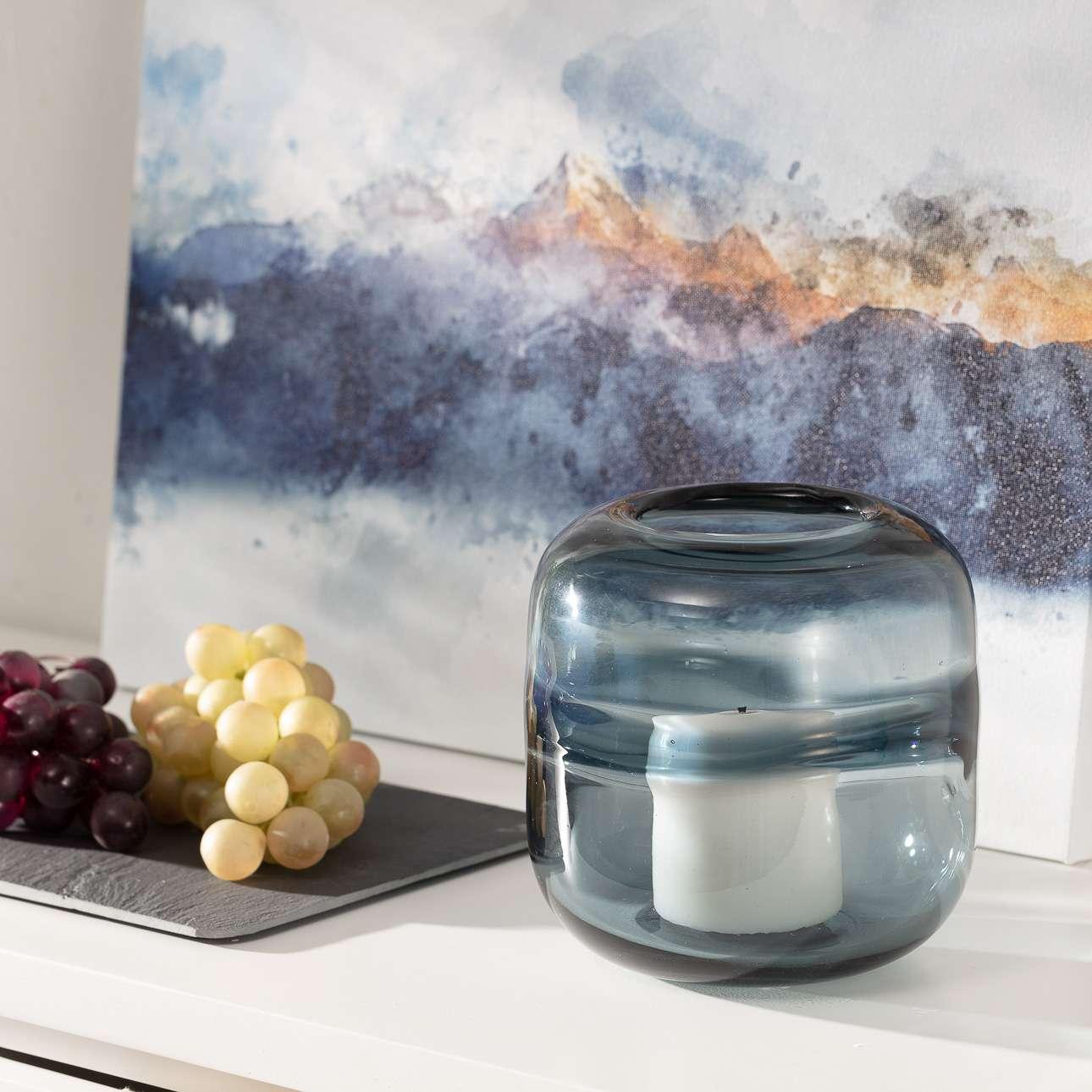 Leuchter Marino Blue II 16 cm