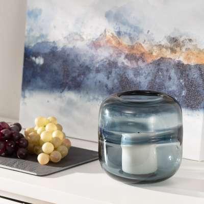Žvakidė Marino Blue II 16 cm Žvakidės - Dekoria.lt