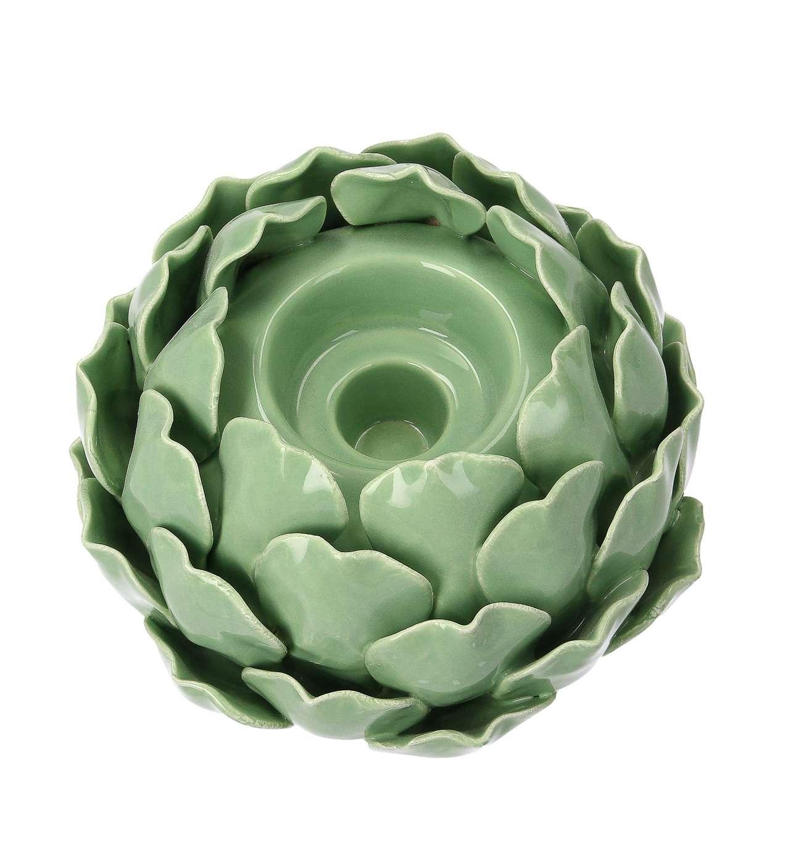 Świecznik Artichoke Green III