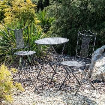 Zestaw ogrodowy Ines stolik + 2 krzesła