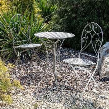 Zestaw ogrodowy Aline stolik + 2 krzesła