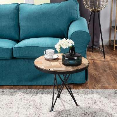 Bijzettafel Albiori I 45cm Industriële meubels - Dekoria.nl