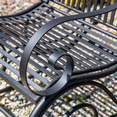 Schaukelstuhl Cambo Metall Gartenmöbel - Dekoria.de