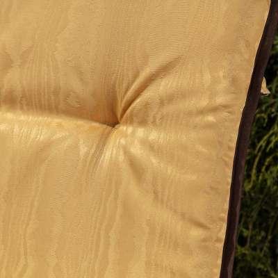 Materac ogrodowy 120 x 50 x 6 cm żółty Materace  -30% - Dekoria.pl