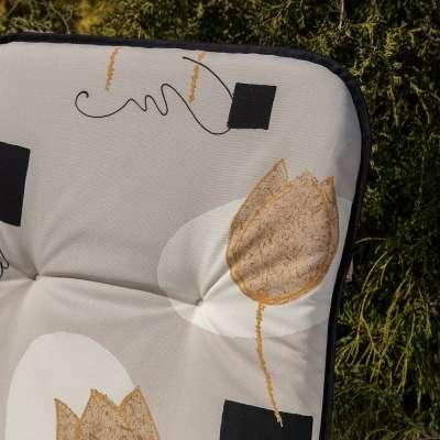 Materac ogrodowy 120 x 50 x 6 cm tulipany Materace  -30% - Dekoria.pl