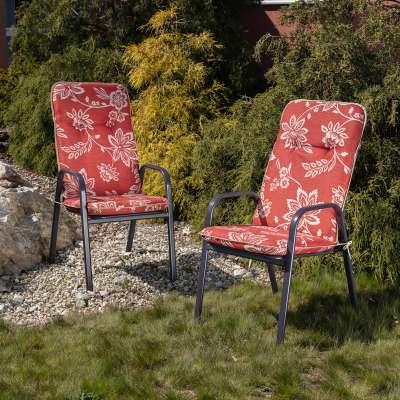 Materac ogrodowy 120 x 50 x 6 cm czerwony Materace  -30% - Dekoria.pl