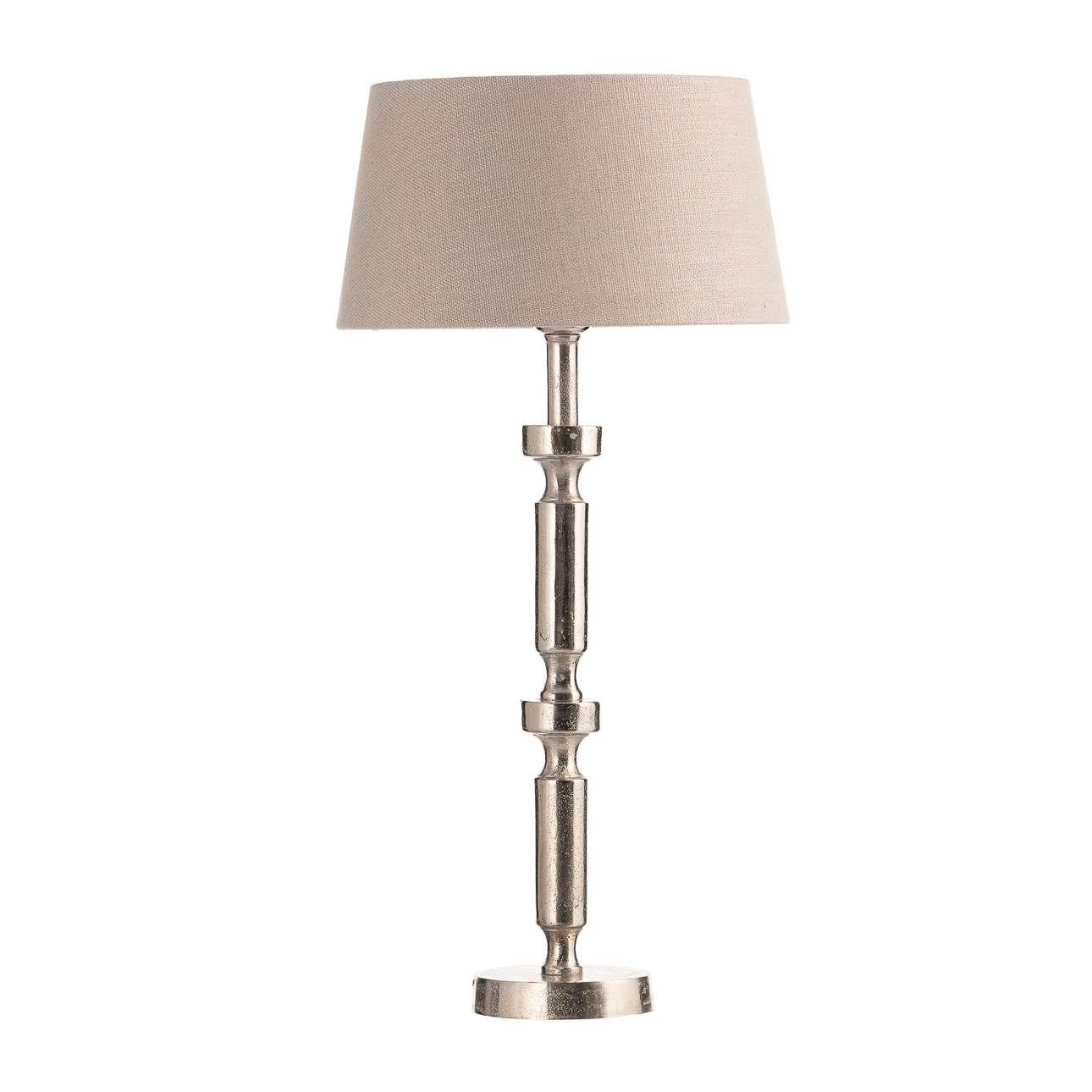 Vyšší stolní lampa Liv, výška 62 cm