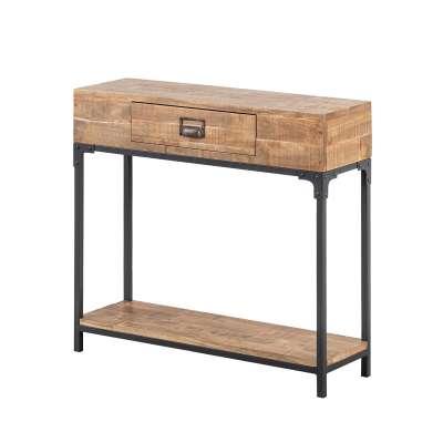 Boční stolek - konzola Factory 80 x 20 x 75,5 cm Psací stoly, boční stolky a konzoly - Dekoria-home.cz